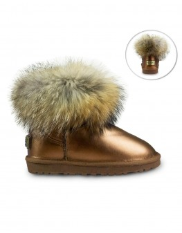 UGG Scurti Metalic Brown C1029
