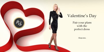 Tinute romantice de Valentine`s day